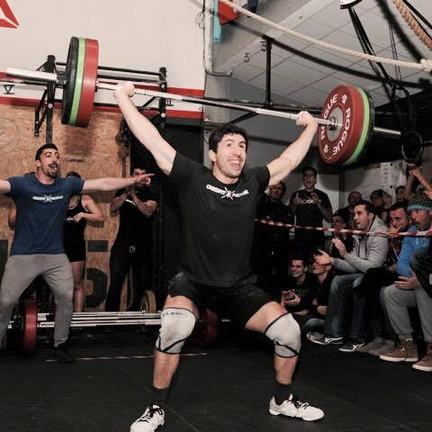 athlète crossfit polygone
