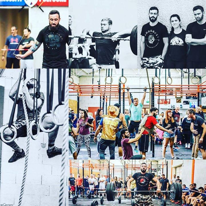 athlètes crossfit polygone